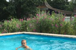 zwembad vakantiehuis