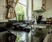 luxe landelijke keuken vakantiehuisje