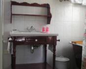 nostalgische badkamer vakantiehuis