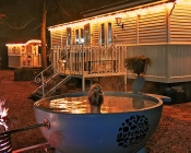 hottub vakantie pipowagen limburg nederlanf