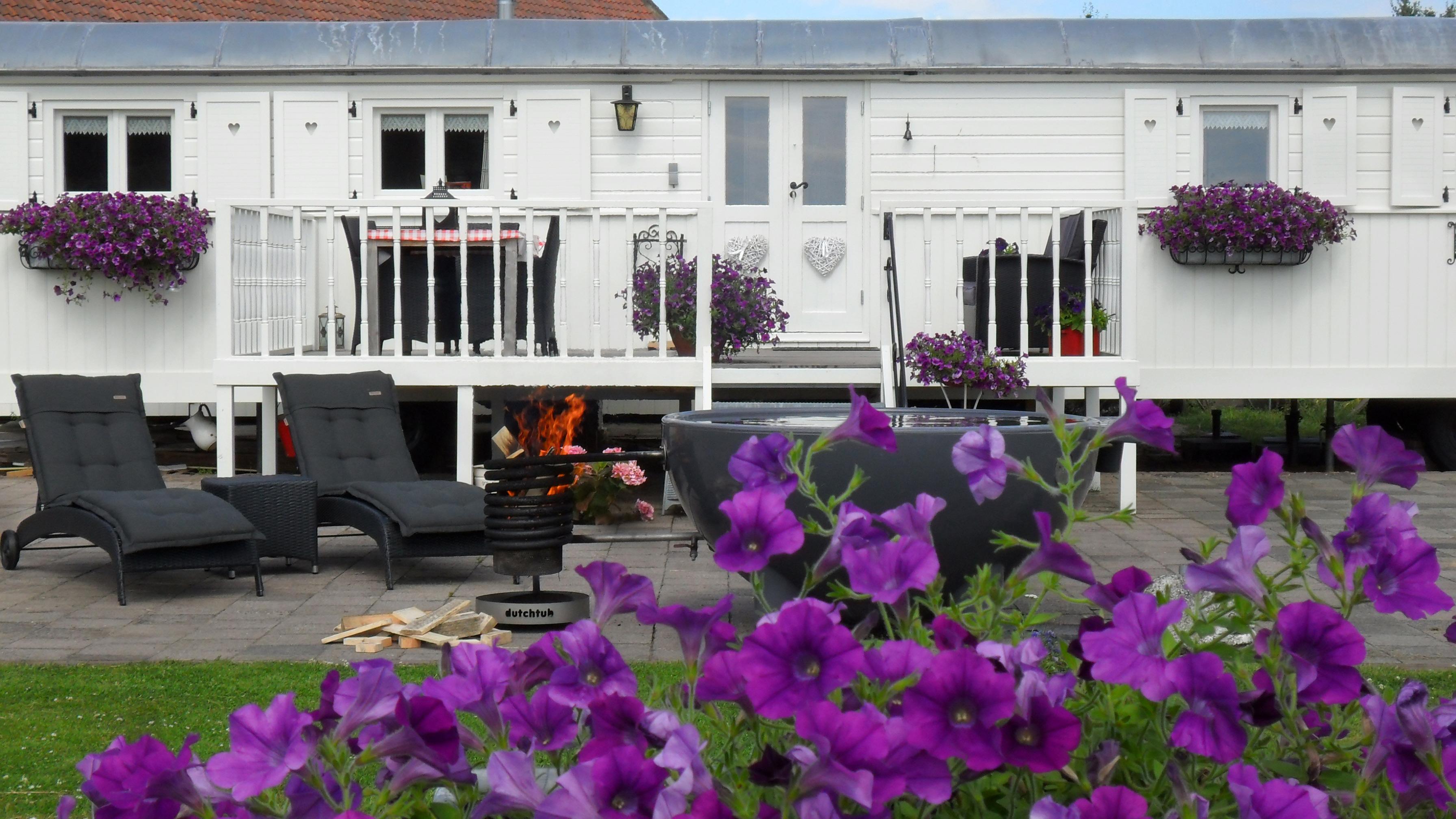 pipowagen vakantie luxe