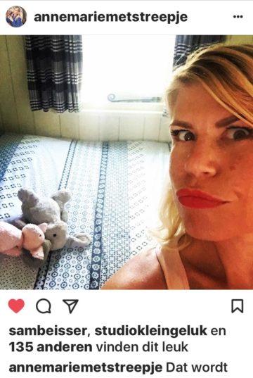 Annemarie Jung te gast in pipowagen pipowagendeluxe buitengoed de gaard