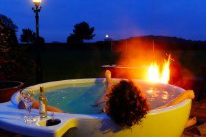 hottub relaxen vakantie