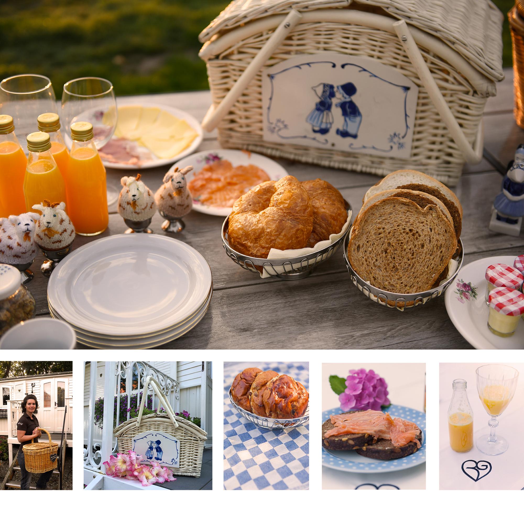 ontbijt vakantiehuis